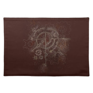 Ghostly SteamPunk Motif Placemat