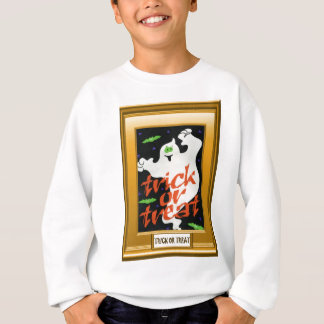 Ghostly Trick or treat Sweatshirt