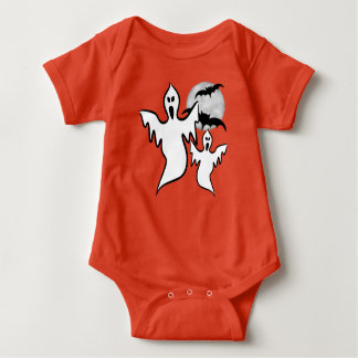 Ghosts Baby Jersey Bodysuit