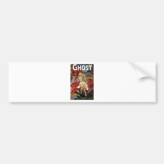 ghosts bumper sticker