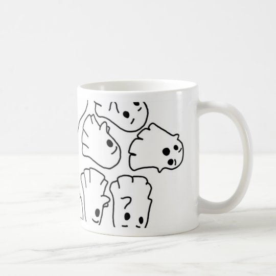 ghosts cute Halloween ghost Coffee Mug