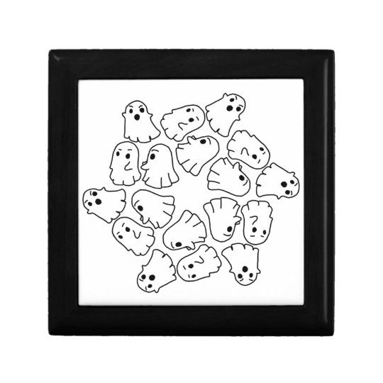 ghosts cute Halloween ghost Gift Box