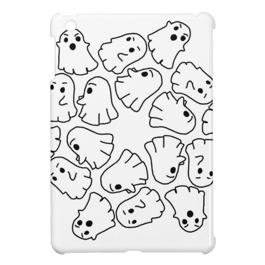 ghosts cute Halloween ghost iPad Mini Cases
