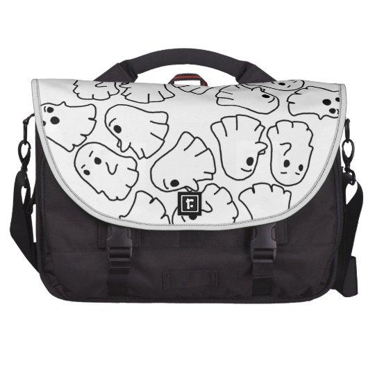 ghosts cute Halloween ghost Laptop Bag