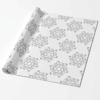 ghosts cute Halloween ghost Wrapping Paper