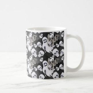 Ghosts Halloween Pattern Coffee Mug