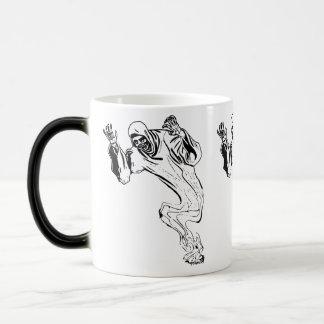 Ghosts magically appear magic mug