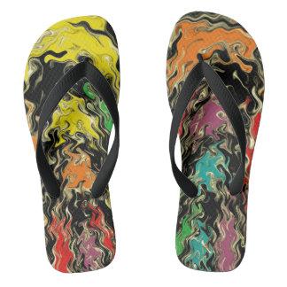 Ghosts of Rainbow Past Flip Flops