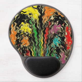 Ghosts of Rainbow Past Gel Mouse Pad