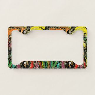Ghosts of Rainbow Past Licence Plate Frame