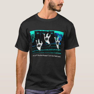 Ghosts of The Northeast Corridor Railroads T-Shirt