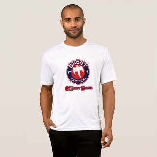 #GhostSquad RWB White SporTec Shirt