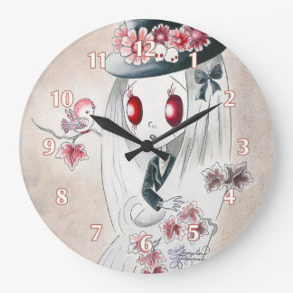 Ghoul Girl: Keira Wall Clocks