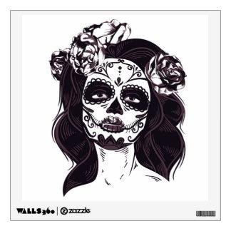 Ghoul Girl Wall Sticker