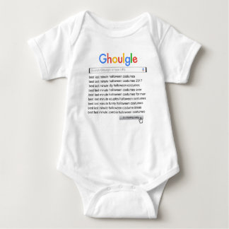 Ghoulgle Last Minute Halloween Costume Search 2017 Baby Bodysuit