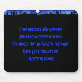 Ghoulies & Ghosties Mouse Pad