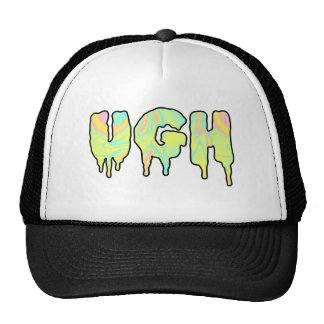 ghoulish attitude trucker hat