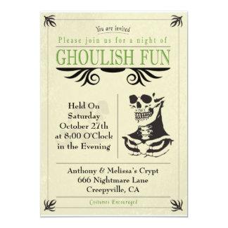 Ghoulish Fun Card