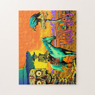 Ghouls Go West Puzzle