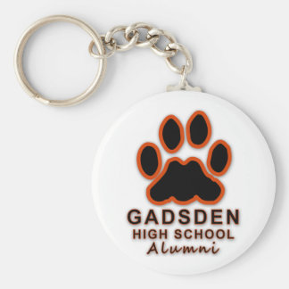 GHS-Gadsden High School Alumni Basic Round Button Keychain