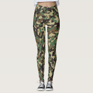 GI Joe Soldier Military Camouflage Party Leggings