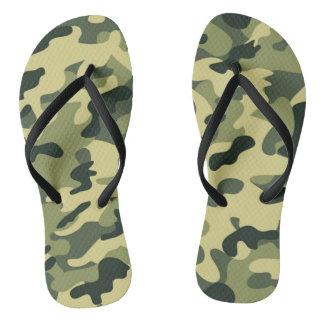 GI JOE Soldier Party Camouflage Flip Flops