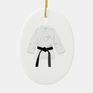 Gi Uniform Ceramic Ornament