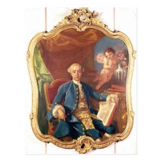 Giacomo Casanova Postcard