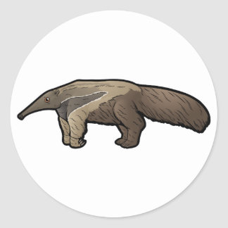 Giant Anteater Classic Round Sticker