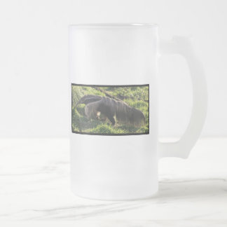 Giant Anteater Frosted Beer Mug