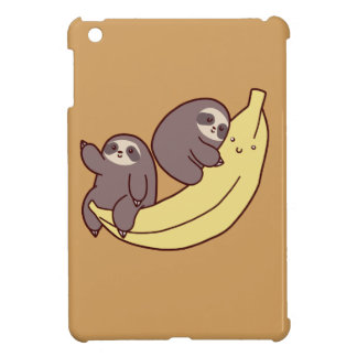 Giant Banana Sloths iPad Mini Cover