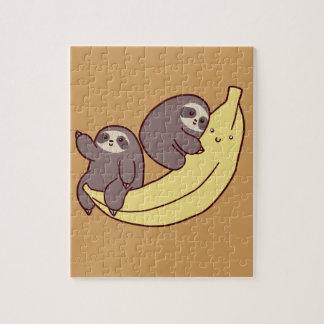 Giant Banana Sloths Jigsaw Puzzle