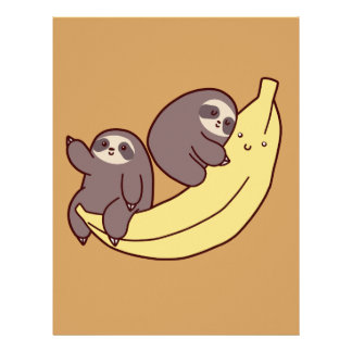 Giant Banana Sloths Letterhead
