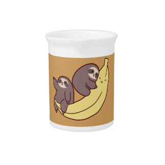 Giant Banana Sloths Pitcher