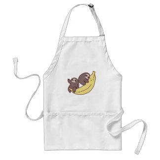 Giant Banana Sloths Standard Apron