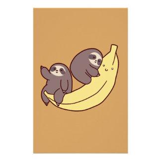 Giant Banana Sloths Stationery