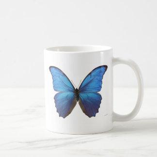 Giant Blue Morpho Butterfly Mugs