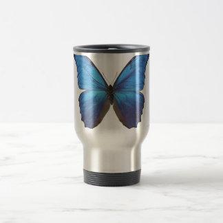 Giant Blue Morpho Butterfly Coffee Mug