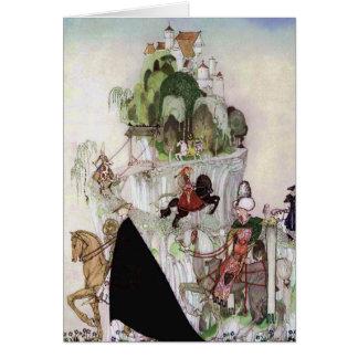 Giant Castle on a Hill Fine Art by Nielsen Card