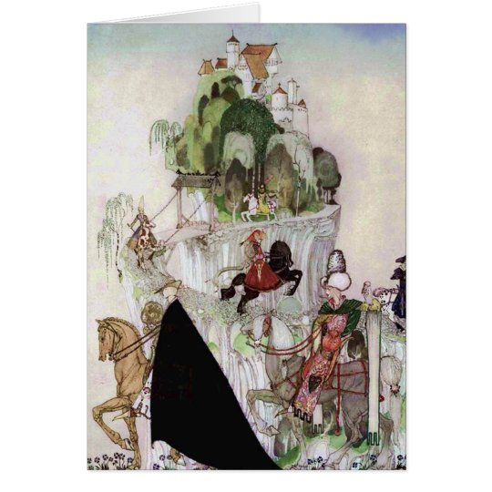Giant Castle on a Hill Fine Art by Nielsen Card