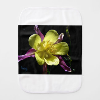 Giant Columbine Burp Cloth