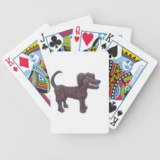Giant Dog Bicycle Playing Cards