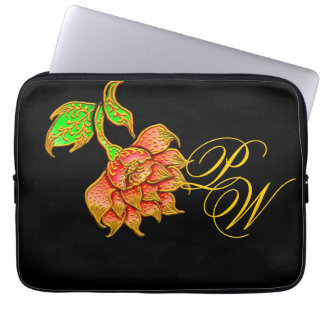 Giant Flower Laptop Sleeve