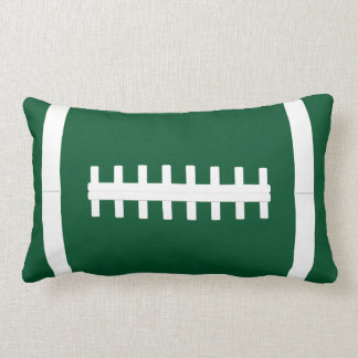 Giant Football Player Custom Color & Text Pillow