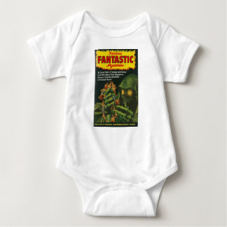 Giant Green Ghoul Baby Bodysuit