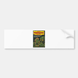 Giant Green Ghoul Bumper Sticker