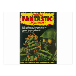 Giant Green Ghoul Postcard