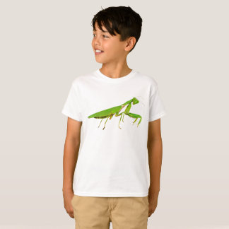 Giant Green Praying Mantis Kids T-shirt