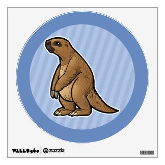 Giant Ground Sloth Wall Decal