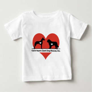 Giant Hearts Giant Dog Rescue Logo Baby T-Shirt